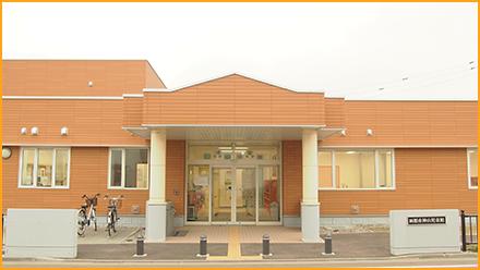神山児童館の外観